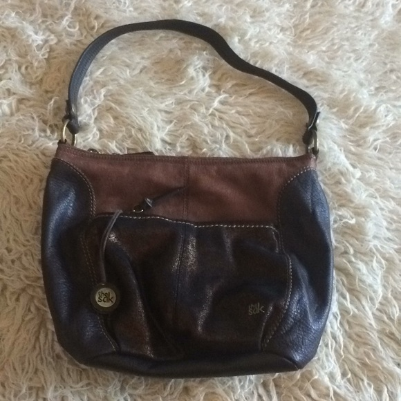 0be024db8a New- The Sak Bronze Leather Sequoia Hobo. M 5ab9275d5521bee19c19e054